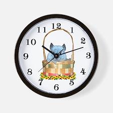 Easter Chin Wall Clock