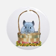 Easter Chin Ornament (Round)