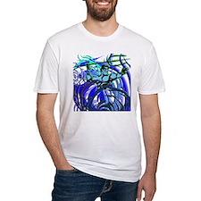 Poseidon Ocean Flames Shirt