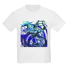 Poseidon Ocean Flames T-Shirt