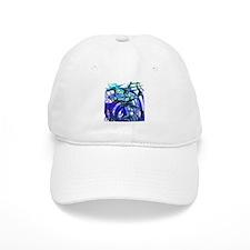 Poseidon Ocean Flames Baseball Cap