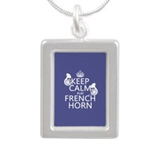 Keep Calm and Play French Horn Necklaces