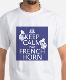 Keep Calm and Play French Horn T-Shirt