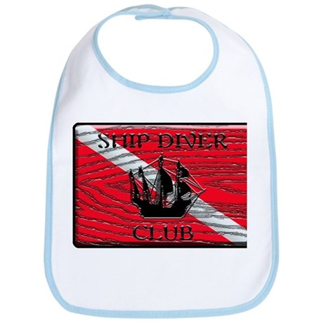 Ship Diver Dive Club Bib