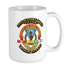 Army - 191st Support Group w SVC Ribbon Mug