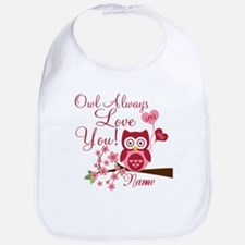 Owl Always Love You Bib