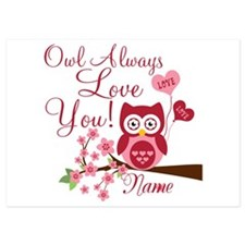 Owl Always Love You 5x7 Flat Cards