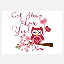 Owl Always Love You 5x7 Flat Cards