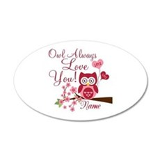 Owl Always Love You Wall Sticker