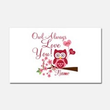 Owl Always Love You Car Magnet 20 x 12