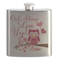 Owl Always Love You Flask