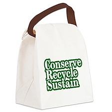 conserve.png Canvas Lunch Bag