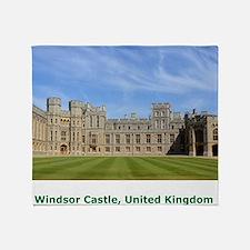 Windsor Castle Throw Blanket