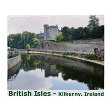 British Isles Throw Blanket