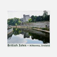 British Isles Throw Blanket