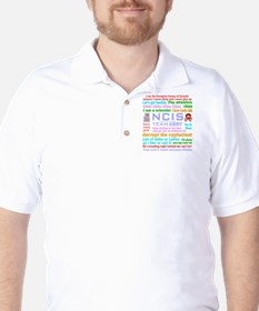 NCIS Abby Quotes Golf Shirt