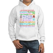 NCIS Abby Quotes Hoodie