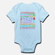 NCIS Abby Quotes Infant Bodysuit