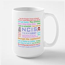 NCIS Abby Quotes Ceramic Mugs