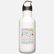 NCIS Abby Quotes Water Bottle