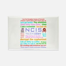 NCIS Abby Quotes Rectangle Magnet