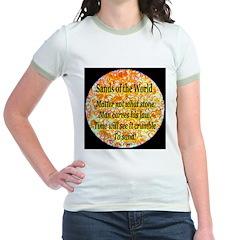 Sands of the World: Law Jr. Ringer T-Shirt