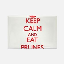 Keep calm and eat Prunes Magnets