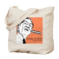 Tommy Douglas Tote Bag