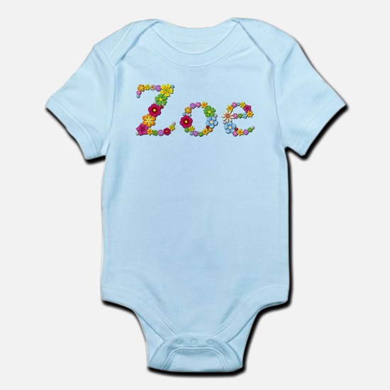 Zoe Bright Flowers Body Suit