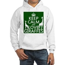 Keep Calm and Love Giraffes Jumper Hoody