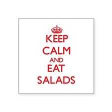 Keep calm and eat Salads Sticker