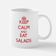 Keep calm and eat Salads Mugs