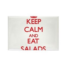 Keep calm and eat Salads Magnets
