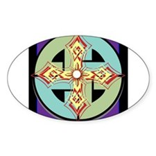Celtic Knot and Cross Decal