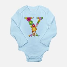 Y Bright Flowers Body Suit