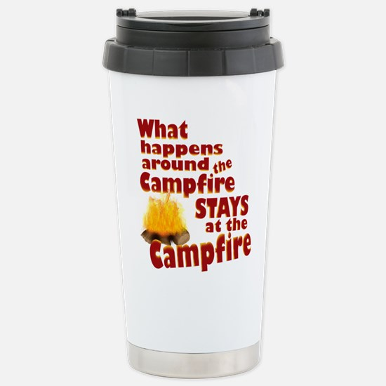 campfire fun Travel Mug