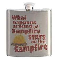 campfire fun Flask