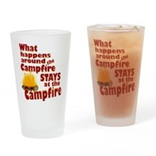 campfire fun Drinking Glass