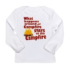 campfire fun Long Sleeve T-Shirt