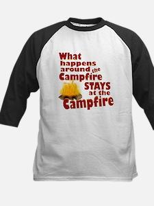 campfire fun Baseball Jersey