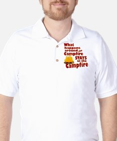 campfire fun Golf Shirt