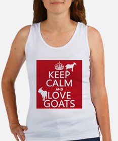 Keep Calm and Love Goats Tank Top