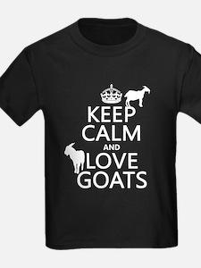 Keep Calm and Love Goats T-Shirt