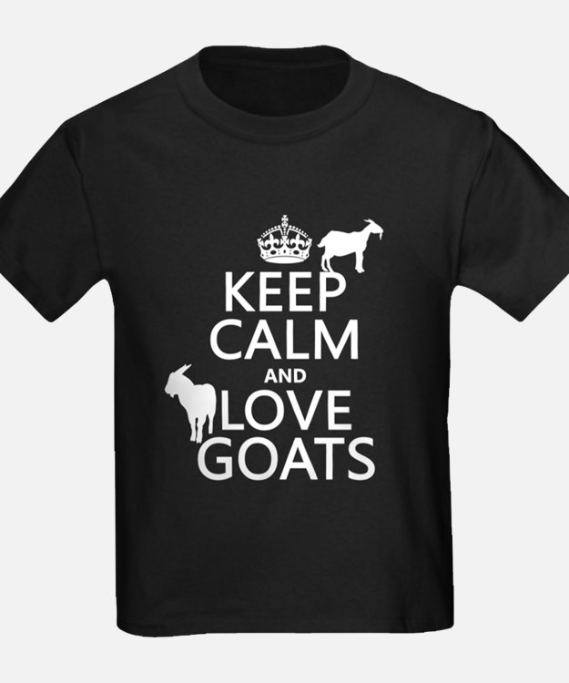 Keep Calm and Love Goats T-Shirt
