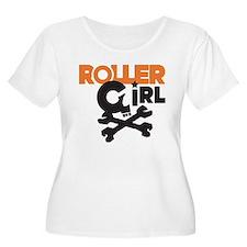 Rollergirl Skull Logo T-Shirt
