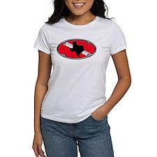 Texas Framed Dive Flag Tee