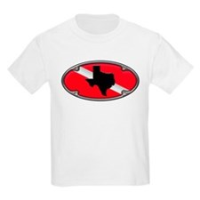 Texas Framed Dive Flag T-Shirt