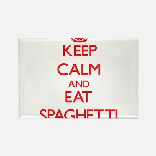 Keep calm and eat Spaghetti Magnets