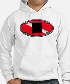 New Mexico Framed Dive Flag Hoodie