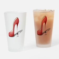 Giant Red Stiletto - Stripper Pole  Drinking Glass
